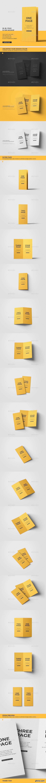 DL Bi-Fold Brochure Mockup 22076934