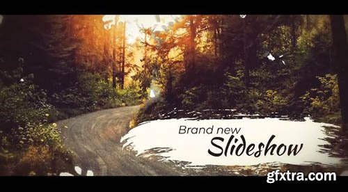 Ink Brush Slideshow - After Effects 89197