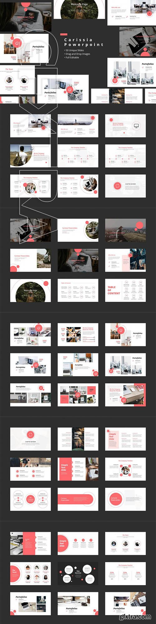 Carissia Powerpoint Templates