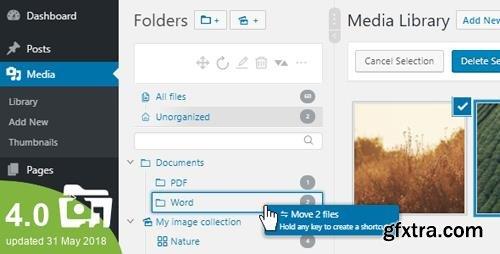 CodeCanyon - WordPress Real Media Library v4.0.3 - Media Categories / Folders File Manager - 13155134