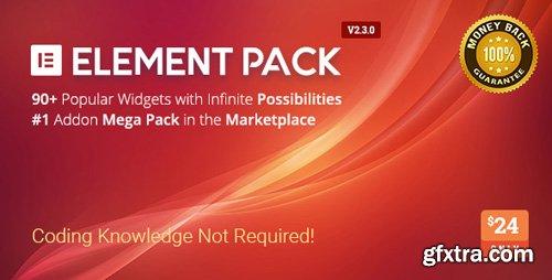 CodeCanyon - Element Pack v2.3.0 - Addon for Elementor Page Builder WordPress Plugin - 21177318
