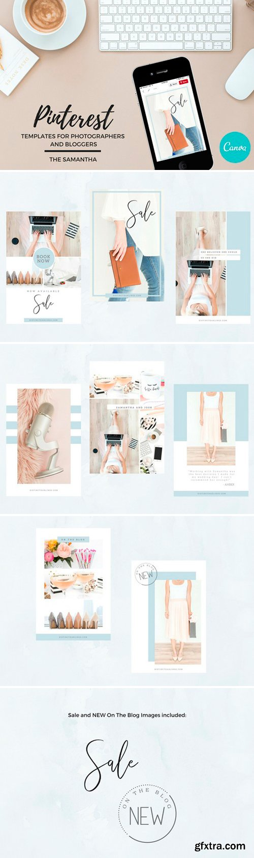 CM - Pinterest Templates for Canva 2545140
