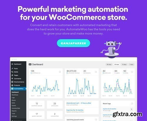 AutomateWoo v4.1.1 - Marketing Automation For WooCommerce Store - NULLED