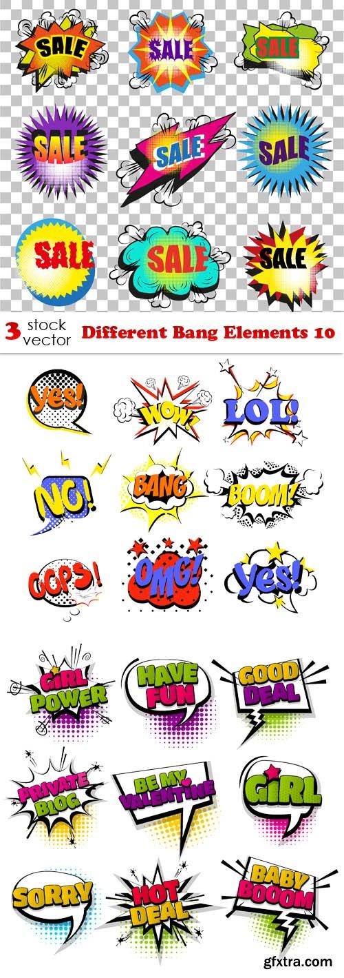 Vectors - Different Bang Elements 10