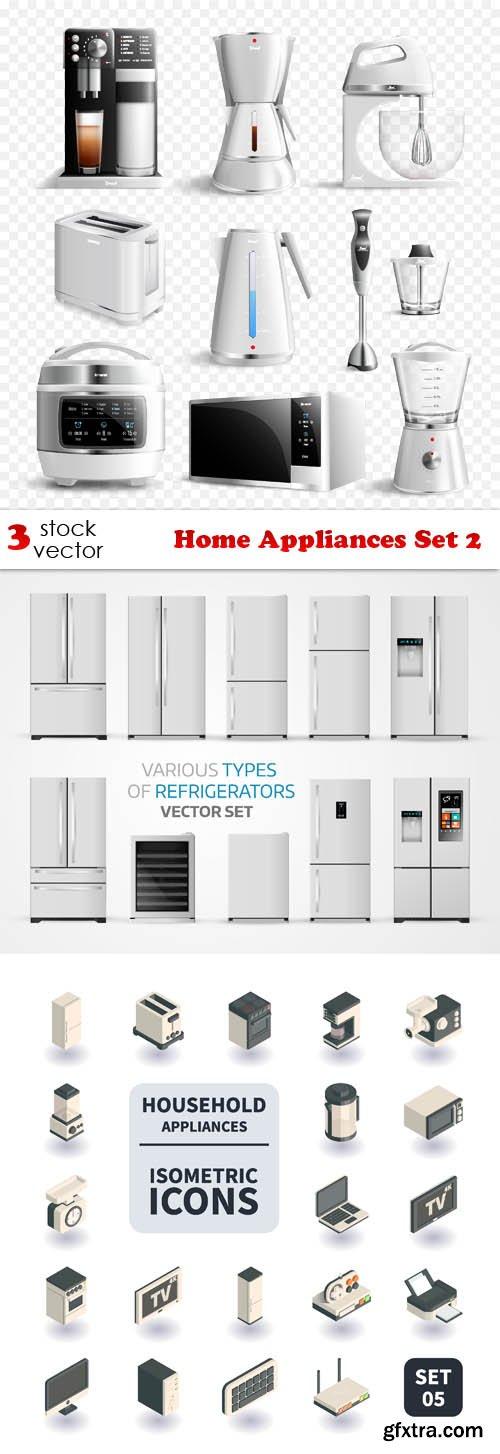 Vectors - Home Appliances Set 2