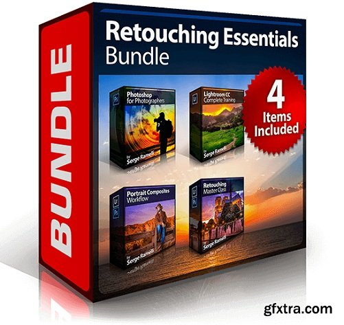 PhotoSerge - Retouching Essentials Bundle