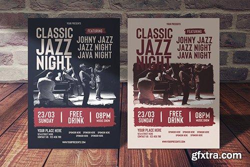 Classic Jazz Night Flyer