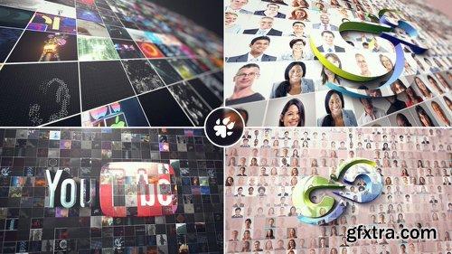 Videohive Multi Video 3D Logo 21888253
