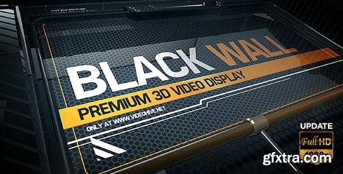 Videohive Black Wall 5172878