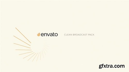 Videohive Clean Broadcast Pack 15690471
