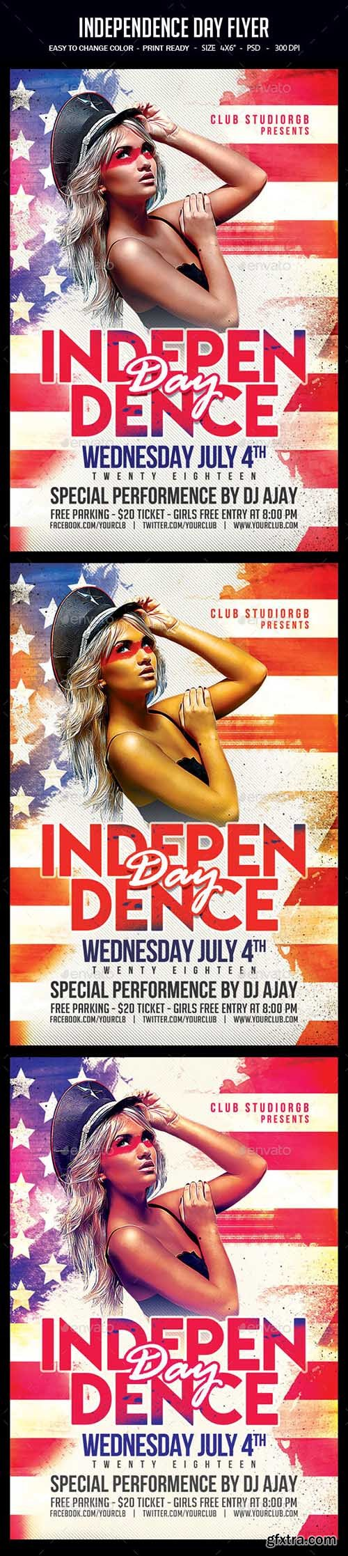 Independence Day Flyer 22080160