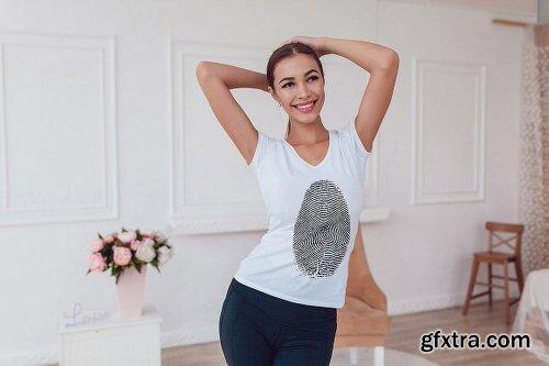 CreativeMarket T-Shirt Mock-Up Vol.16 2017 1957719