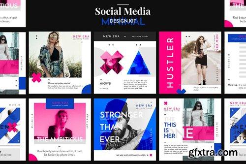 Minimal Social Media Design Pack