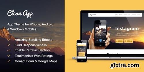 MyThemeShop - CleanApp v1.0.20 - Perfect App WordPress Theme