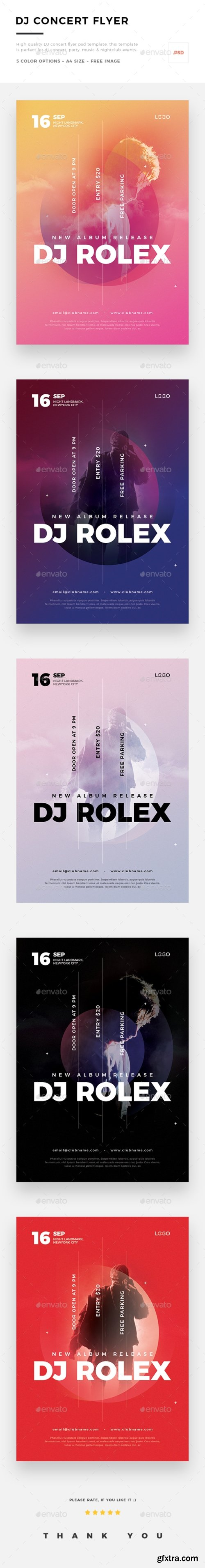 Graphicriver - DJ Concert Flyer 20658862