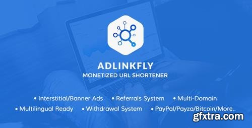 CodeCanyon - AdLinkFly v5.3.0 - Monetized URL Shortener - 16887109 - NULLED