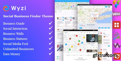 ThemeForest - Wyzi v2.1.9.2 - Business Finder and Service Provider Booking WordPress Social Look Directory Listing Theme - 18850856 - NULLED