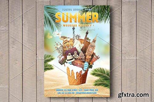 CM - Summer Weekend Holiday Flyer 2636628
