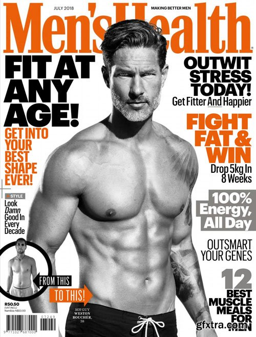 Men\'s Health South Africa - July 2018