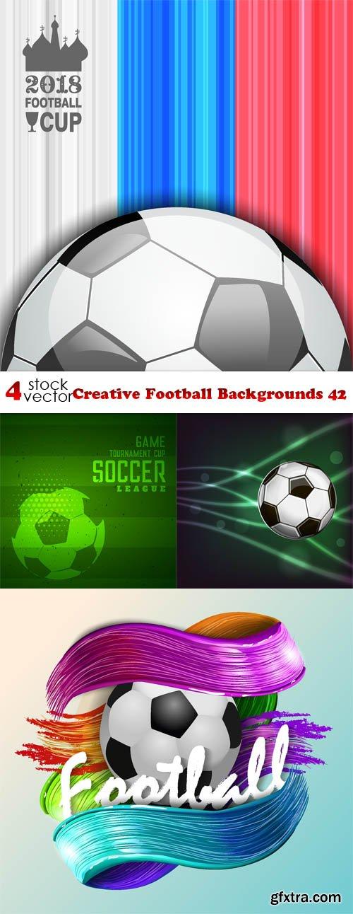 Vectors - Creative Football Backgrounds 42
