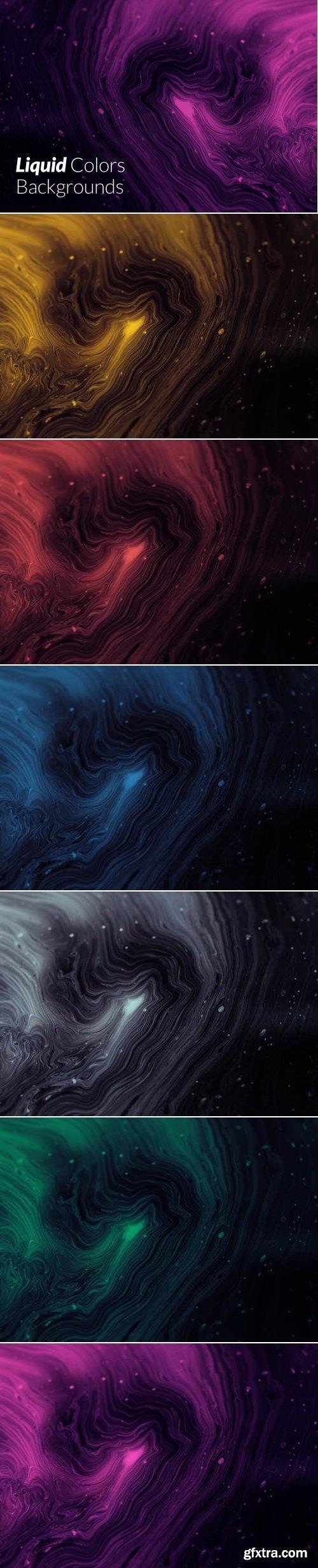 Liquid Texture Backgrounds