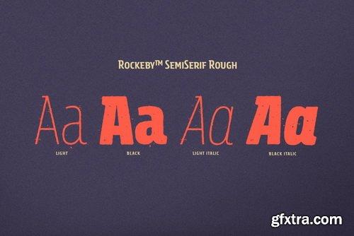 Rockeby Semiserif Font Family