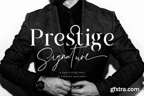 Prestige Family - 2 Fonts