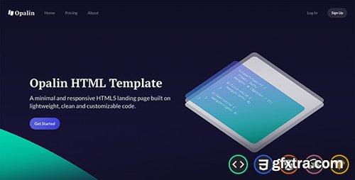 ThemeForest - Opalin v1.0 - Startup HTML Template - 22060474