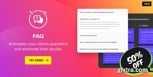 CodeCanyon - Accordion FAQ Plugin for WordPress v1.0.0 - 21844250