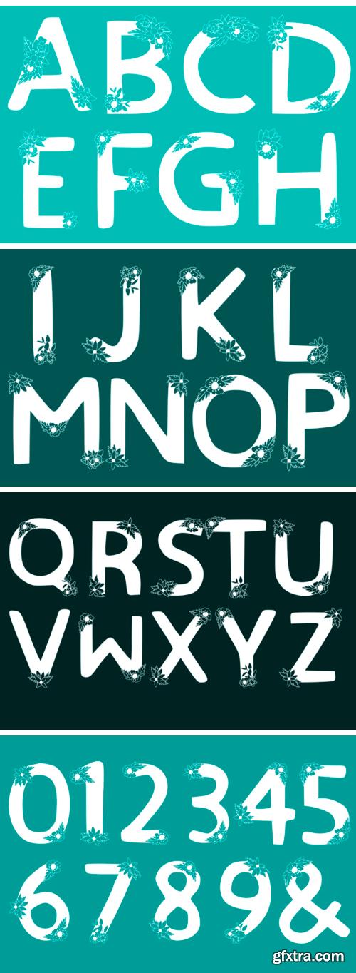 Creativefabrica - Alphabet SVG 368691