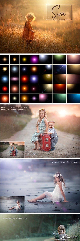 CM - Sunlight Photo Overlays 2511525