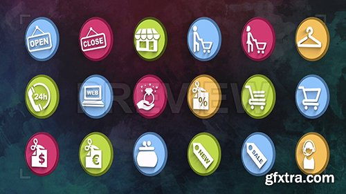 Ultimate Shopping Icons Pack 87112