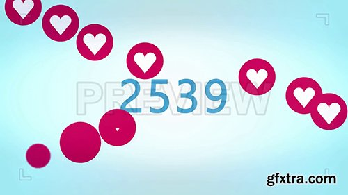 10,000 Heart Likes Counter 87139