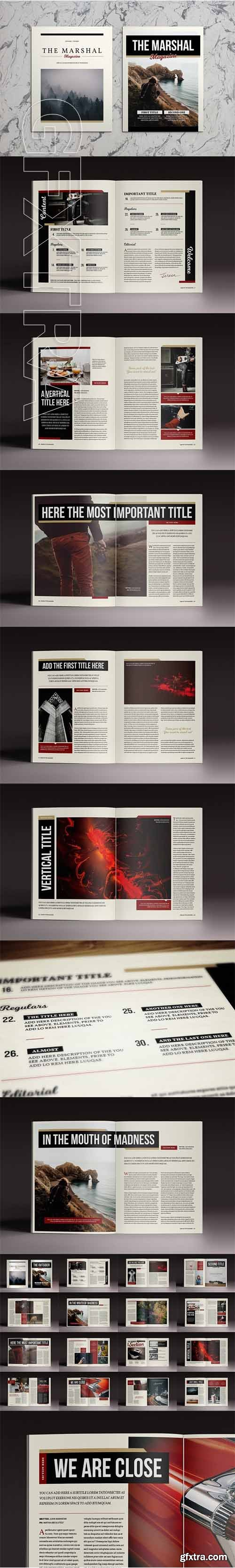 The Marshall Indesign Template