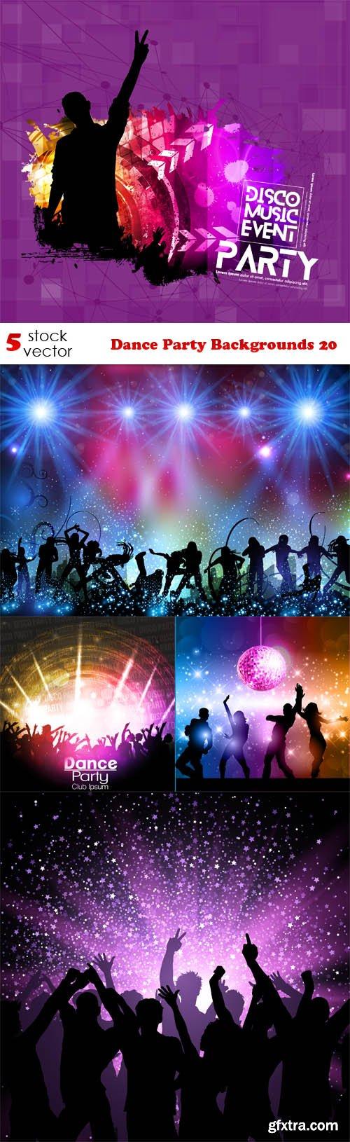 Vectors - Dance Party Backgrounds 20