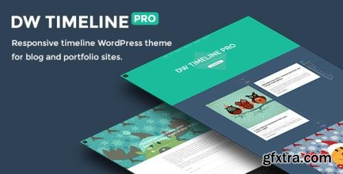 ThemeForest - DW Timeline Pro v1.1.1 - Reponsive Timeline WordPress Theme - 15407139