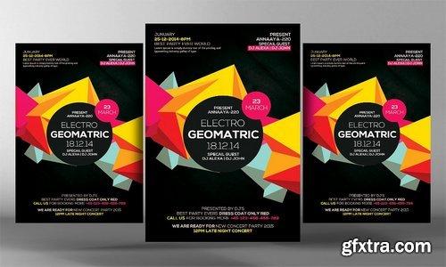 CM - Electro Vibes Geometric Flyer 2543439