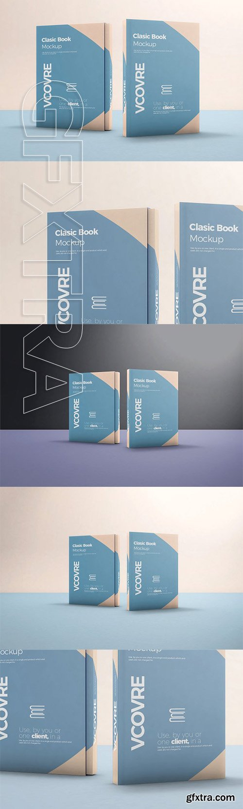 CreativeMarket - Book Hard Cover Mockup 7 2606847