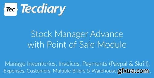CodeCanyon - Stock Manager Advance with Point of Sale Module v3.4.4 - 5403161 - NULLED