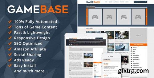 CodeCanyon - GameBase v1.5 - Video Games Database - 14197855