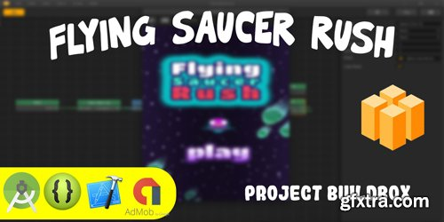 CodeSter - Flying Saucer Rush Buildbox Project BBDOC - 7419