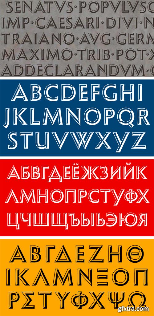 Shango Chiseled Font