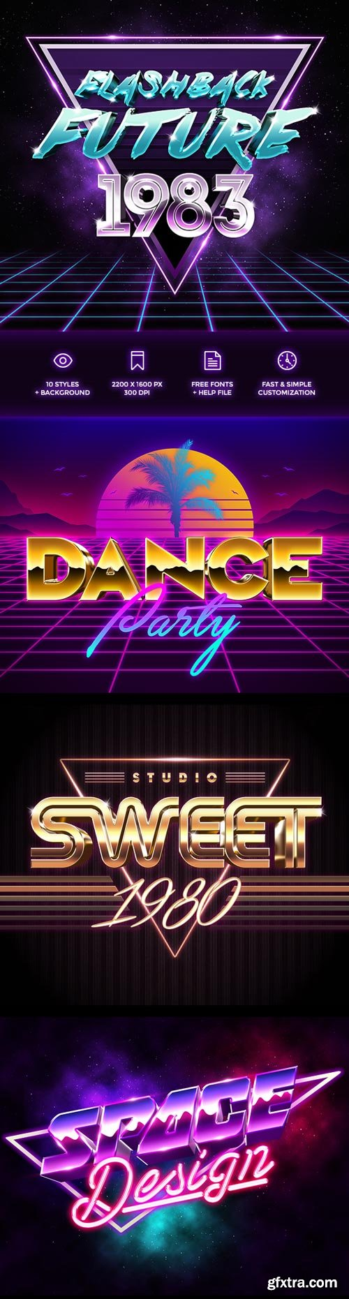 GraphicRiver - 80s Style Text Effects - 19354475