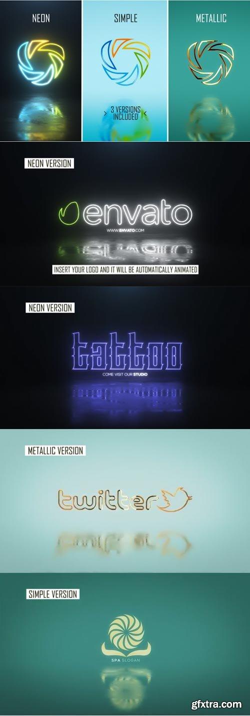Videohive - Minimal Logo Pack (3 versions) - 21833824