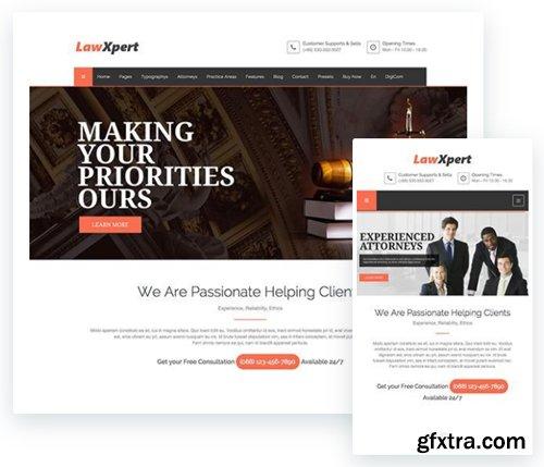 ThemeXpert - Lawxpert v1.0 - Responsive Law Agency Joomla Template