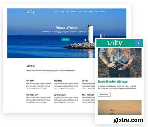 ThemeXpert - Unity v1.0 - Responsive One Page Joomla Template