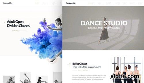 ThemeForest - Dance WordPress Theme - Dancing Academy v1.1.3.1 - 18118447