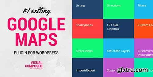 CodeCanyon - Advanced Google Maps Plugin for Wordpress v5.0.6 - 5211638