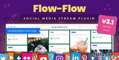 CodeCanyon - Flow-Flow v3.2.26 - WordPress Social Stream Plugin - 9319434