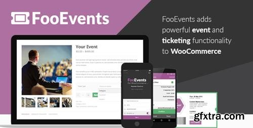 CodeCanyon - FooEvents for WooCommerce v1.7.19 - 11753111